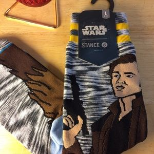 Stance Star Wars Kessel Run Black and Gray, Size L